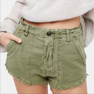 Free People Cut-Off Shorts Size 6